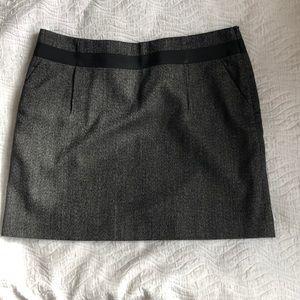 Another black short skirt paired w/ leggings!